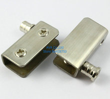 Glass Door Pivot Hinges Clamp Clip / Stainless Steel / For 5-9mm Glass Door(China)