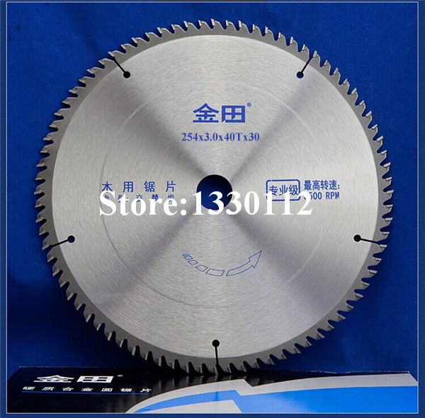 10 inches professional TCT circular saw blade for wood 254 x 3.0 x 40T x 30<br>
