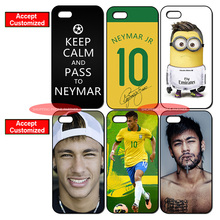 Famous Star Neymar Cover Case for iPhone 4 4S 5 5S SE 5C 6 6S 7 Plus iPod Touch 5 LG G2 G3 G4 G5 G6 Sony Xperia Z2 Z3 Z4 Z5