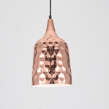 Creative Personality Iron Single Head Chandelier Electroplating Color Designer Simple Retro Industrial Strip Restaurant Bedroom(China)