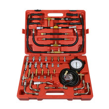 TU-443 Deluxe Manometer Fuel Pressure Gauge Engine Testing Kit Fuel Injection Pump Tester Fast shipping(China)