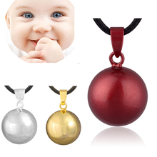 Colorful Mexican Bola Necklace 18MM Chime Ball Angel Caller Pendant for Pregnant Jewelry Sounds N14NB