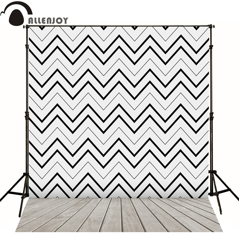 Allenjoy photography backdrops black gray abstract lines seamless pattern zigzag kids vinyl lovely backgrounds for photo studio<br><br>Aliexpress