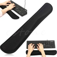 1pcs Black Support Comfort Gel Wrist Rest Pad for PC Keyboard Raised Platform Rest Support Pad Hands