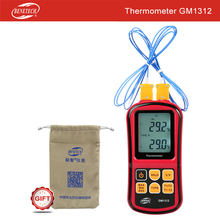 Free shipping BENETECH digital K tpye Application J R T E N Type thermocouple thermometer temperature sensor GM1312(China)