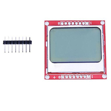 New 84X48 84x84 LCD Module Red backlight adapter PCB for Nokia 5110 for Arduino(China)
