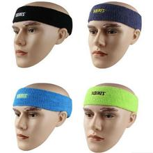 Buy Outdoor Sports Cycling Headwear Safety Sweatband Running Football Men Women Stretch Hair Bands Gym Fitness Sweat Headband M038 for $1.50 in AliExpress store
