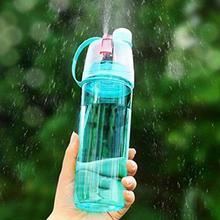 Portable Sports Bottle Simple and Stylish Spray Water Bottle Cool Functional Space Drinkware Plastic Cups 600ML 400MLs