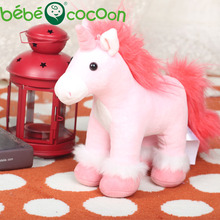Bebecocoon Wholesale Kawaii Unicorn Plush Lovely Unicornio Pelucia Stuffed Animal Kids Soft Toy for Kid Boys Girls For Drop Ship(China)