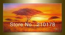 handmade oil painting on canvas modern 100% Best Art Landscape oil painting original directly from artis LA1-018(China)