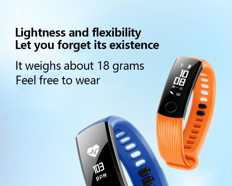 New original huawei glory Bracelet 3 Smart Bluetooth motion,heart rate,sleep monitoring,waterproof Wrist Watch For xiaomi 2 12