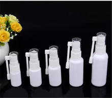 1pcs 10/15/20/30ML Empty Plastic Nasal Bottle Small Rotation Mist Spray Bottles Nose Pharmaceutical Medicine Atomizer