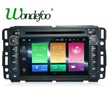 OCTA CORE Android 6.0 2 din car DVD player For GMC Yukon Tahoe stereo RAM 2G 16G/32G radio multimedia screen navigation