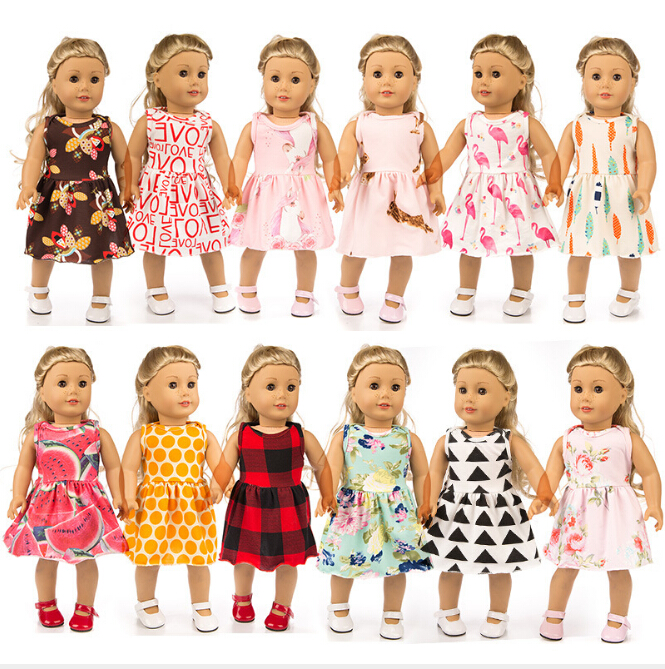 Dress for  Blue Dress with Butterfly Decoration Doll Beautiful Dress HICA
