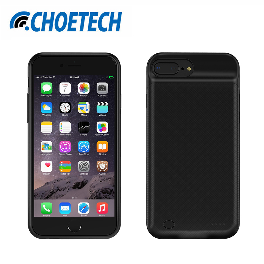 CHOETECH Battery Charger Case For iPhone 7 /6/6S 2850mAh Portable Power Bank External Pack Backup Rechargeable Case for iPhone 6(China (Mainland))