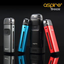 New Original Aspire Breeze Vape Kit Built-in 2ml Atomizer 650mAh Battery AIO All In One Electronic Cigarette Vape Kit(China)