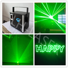 500mW green animation laser light with SD Card stage lights/500mW 532nm Green disco laser for party show(China)