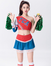 MOONIGHT High School Musical Glee Style Cheerleading Costumes Cheerleader Uniform Girl S-2XL