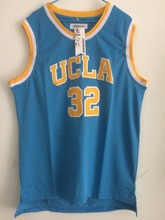 2018 Mens Cheap Throwback Basketball Jerseys #32 Bill Walton UCLA Bruins College Blue Basketball Jersey Free Shipping(China)