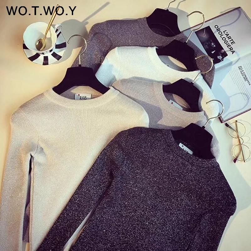 Slim Fit Sweater Women