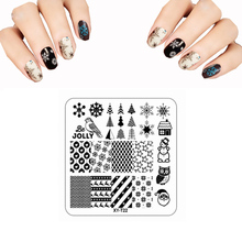 Buy 6.5*6.5CM XYT 3D Nail Stamping Plates Set Christmas Girl Butterfly Feather Image Plate DIY Plastic Acrylic Nail Art Templates for $1.12 in AliExpress store