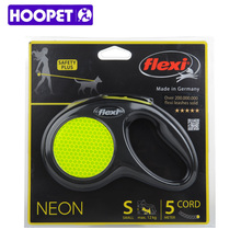 HOOPET Pet Dogs Automatic Traction Collar Rope Out Walking The Dog Rope Safe And Durable Dog Leash Pet Products(China)