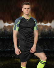KAWU DIY Soccer jerseys Set (no socks) Sport Running Suit Custom Made high quality Men Football Sport Clothes S17036(China)
