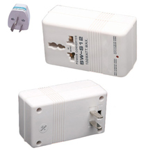 Newest White Professional  110/120V to 220/240V Step Up/Down Dual Voltage Converter Transformer Travel Adapter Switch