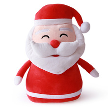 33cm Toys Children Christmas Plush Pillow Doll Kids Stuffed Cushion Casual Gifts Boys Girls New yer Snow Plush Toys(China)