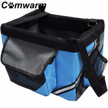 Portable Pet Dog Bicycle Carrier Bag Basket Puppy Dog Cat Travel Bike Carrier Seat Bag For Small Pet Dog(China)