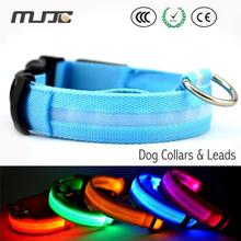 Dog led glowing collar 35-60cm luminous collar flash led necklace leash cachorro dog accessories for animal products for dogs