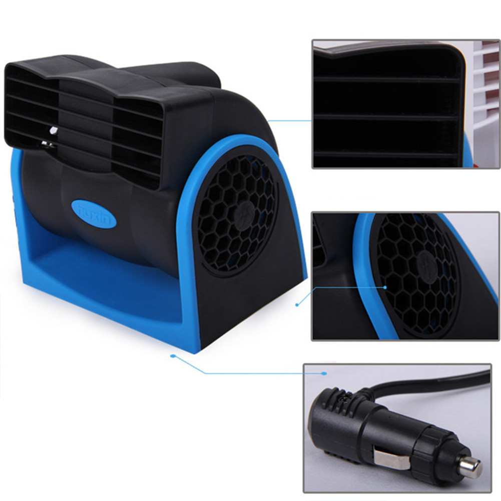 12V Car Auto Air Cooling Fan Adjustable Silent Car Fan Car Cooler Truck Cooling Fan Car Accessories(China (Mainland))