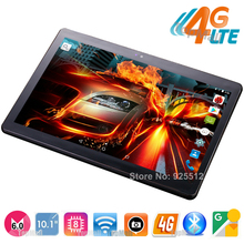 Hot New 10 inch 4G FDD LTE Octa Core Tablet PC 4G RAM 32G ROM Android 6.0 Dual SIM Cards 1920*1200 IPS GPS Tablets 10 10.1+Gifts