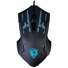 Optical Pro Gaming X6 Mouse Office 1200DPI Mice Cool Design Professional USB Wired Mice For Computer Peripherals