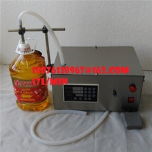 17L/MIN Liquid filling machine for mineral water perfume filling machine automatic filling machine for beverage Edible oil(China)
