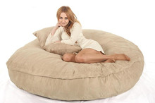 Large bean bag foam bean bag chair for adults lazy bag COVER only supply 71x12 inches(China)
