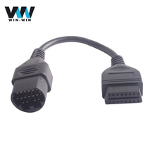 OBD OBD2 for Mazda 17Pin to 16Pin Extension Cable 17 Pin to 16 Pin OBD2 Diagnosis Tool Adapter Female Connector Cable