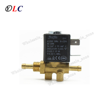 JYZ-3W Normally Closed 2mm N/C 2/2 Way AC 230V G1/8' Brass Steam Generator Water 2 Position 2 Way Solenoid Valve Coffee Makers(China)