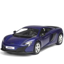 1:36 collections car model for Mclaren 650s alloy sports car pull back model boy children toy Sporty Car