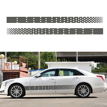 180*12cm Car Styling 3D Stickers customizable Fading Racing Body Mercedes BMW Audi car stickers decals - CarMotorLoverHome Store store