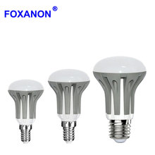 Foxanon Dimmable LED E27 E14 Light 3W 5W 7W 220V 110V LED Bulb 2835 SMD Lamps Dimming lampada led Candle Lighting R39 R50 R63