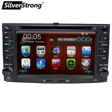 SilverStrong Sportage Radio 2 din Car DVD For Kia Sportage 2007-2010 Car GPS Navigation Stereo Steering wheel(Hong Kong)