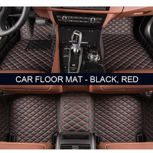 Custom fit car floor mats for Toyota Camry 40 Corolla RAV4 Verso FJ Land Cruiser LC 200 Prado 150 120 3D car-styling carpet