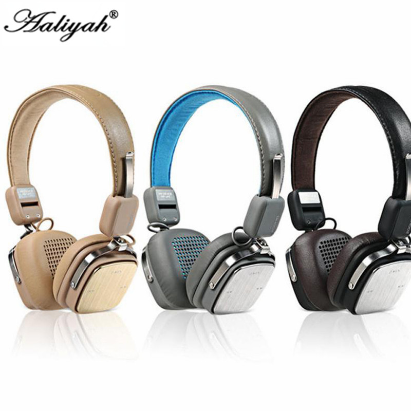 Aaliyah REMAX Bluetooth Hesdphones Headset Adjustable Soft Leather AUX Wireless Bluetooth 4.1 Headphone PK Mashall headphones<br><br>Aliexpress