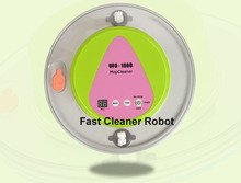Free Shipped to Russia Newest Mini Robot Wet and Dry Mop Floor Cleaner With 247ML Water Tank(China)