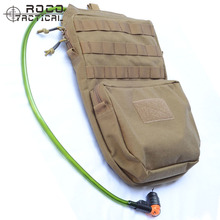 ROCOTACTICAL MOLLE Hydration Backpack 3L Military Travel Hydration Pack 3L Water Pack (Bladder is not included) Coyote Brown(China)