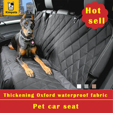 Hot Sell Pet Waterproof Fabric Car Seat Good Quality and Artful Fabric  Dog Car mat Seat Cover