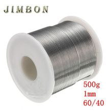 JimBon 1mm 500g 60/40 Rosin Core Solder Tin Lead 2.0% Flux Soldering Welding Iron Wire Reel(China)