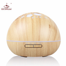 GX.Diffuser 300ml Home Air Humidifier Essential Oil Diffuser Aromatherapy Electric Aroma Diffuser Ultrasonic Mist Maker Purifier(China)