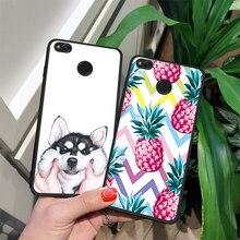 EKDME Patterned Flower Case Xiaomi Redmi 5A 5 Plus 4A 4X 5 Note4 4x 5 6 Pro 6A 6 Silicon TPU Bumper Back Cover Case